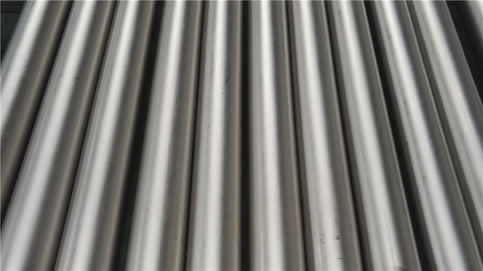 Petrochemical Pure Titanium Tube Round High Erosion Resistance ASTM B338
